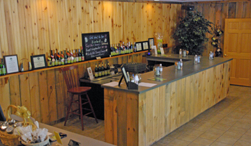 Nimble Hill Vineyard & Winery Showroom