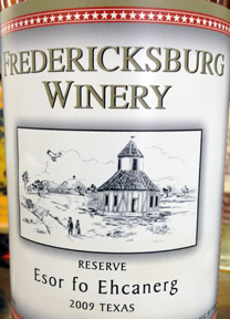 Fredericksburge Winery