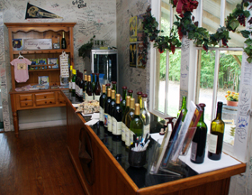 Homestead Winery Tasting Room in Grapevine, Texas