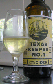 Texas Keeper Cider