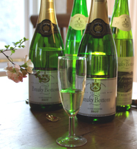 sparkling wines at Breaky Bottom