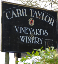 Carr Taylor vineyards and winery