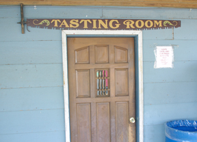 Marshal's Winery tasting room